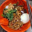 dry chilli ban mee ($4.50) from Damansara Chilli Pan Mee