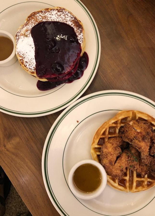 Pancakes & Waffles For Dinner