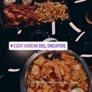 4 flavours set w/ seafood soybean paste stew