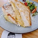 Grilled cheese sandwich ($13)