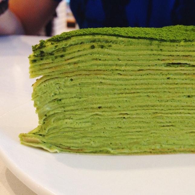 Green Tea Mille Crepe