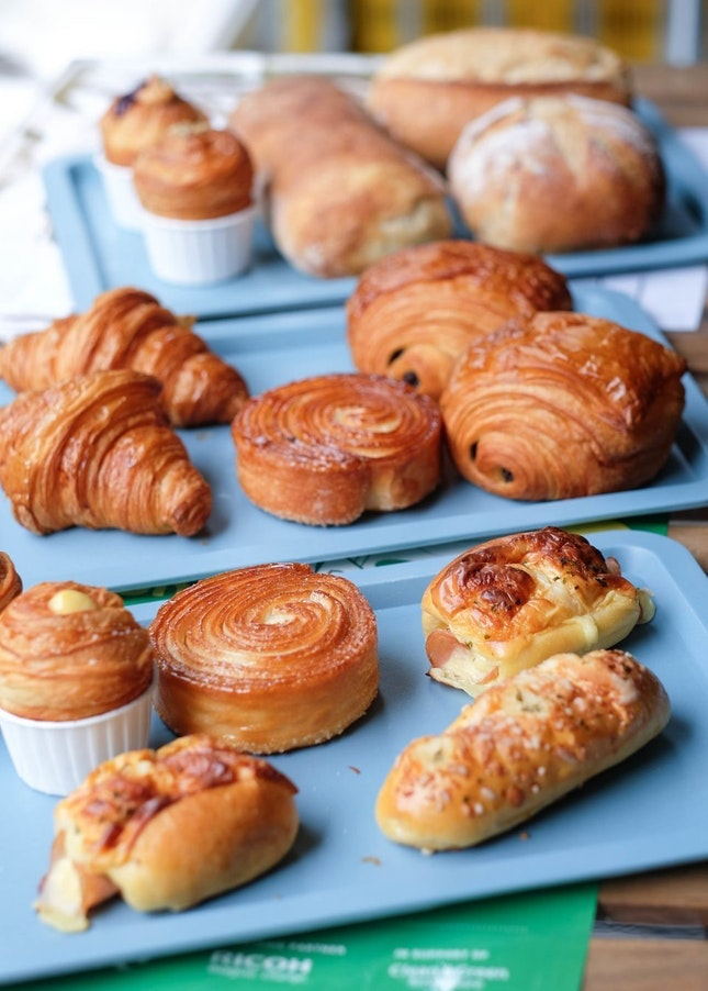 For Grab-and-Go Pastries at Farrer Road