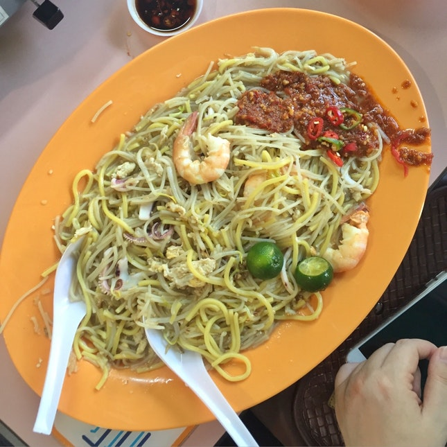 Singapore Fried Hokkien Mee