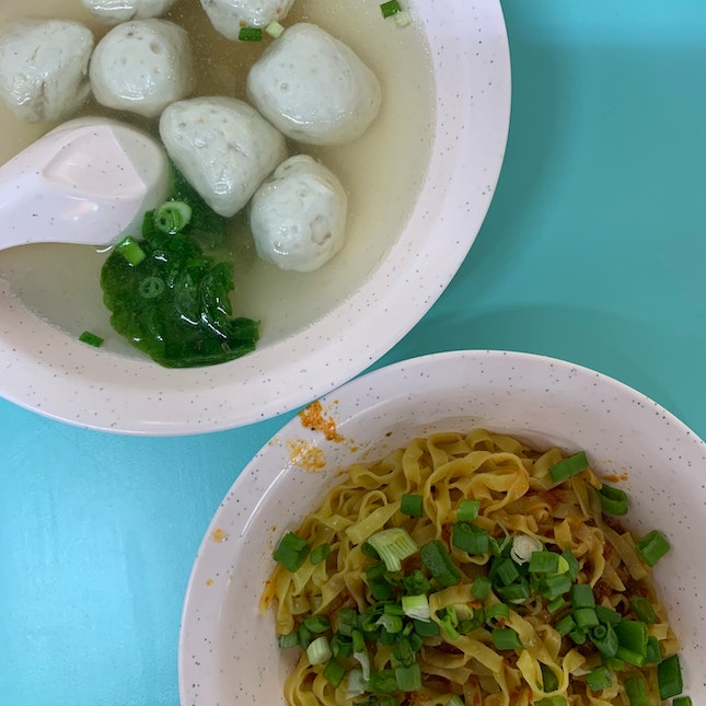 Best Fishball Noodle!