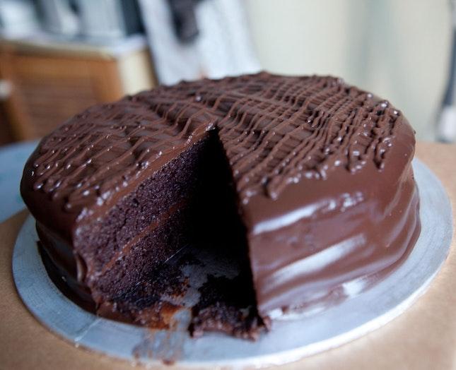 "Chocolate Cake (8"")"
