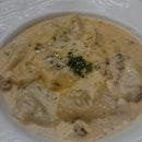Chicken Mushroom Tortellini (Handmade)