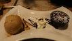 Dark Chocolate Lava Cake & Espresso Gelato