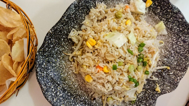 Vegetarian Fried Rice With Egg