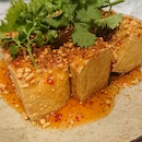 Spicy Tofu With Thai Chilli Sauce ($8)