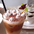 Ice Cappuccino wit 3D Art