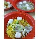 Best fishball noodles for a late night craving.