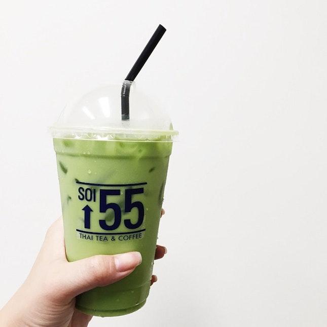 Thai Green Milk Tea ($2.50)