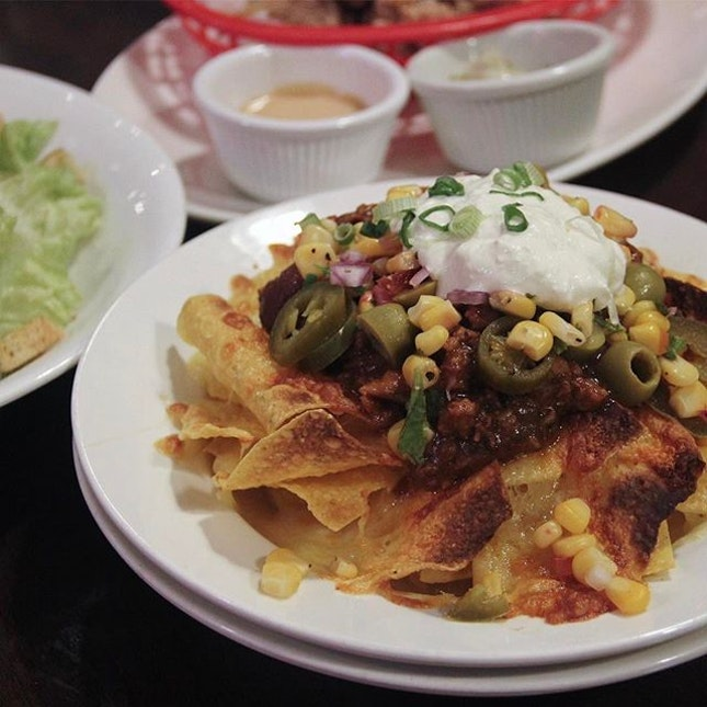 Loaded Chilli Nachos ($13.90)