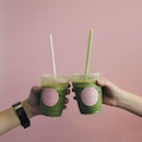 Let's toast to Sundae with iced UJI matcha 🍵