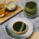 Immensely love how @hvala_sg desserts are infused with authentic matcha powder that we decided to skip dinner and have a matcha dessert party.