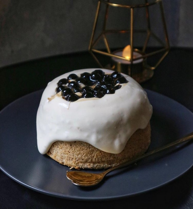 French Earl Grey Bubble Milk Tea Cake (MYR15)