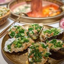 BBQ Canadian Oysters with Garlic ($32 for 6)