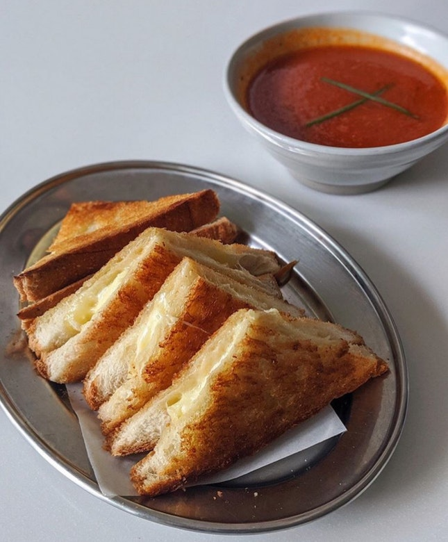 Grilled Cheese Sandwich ($11)