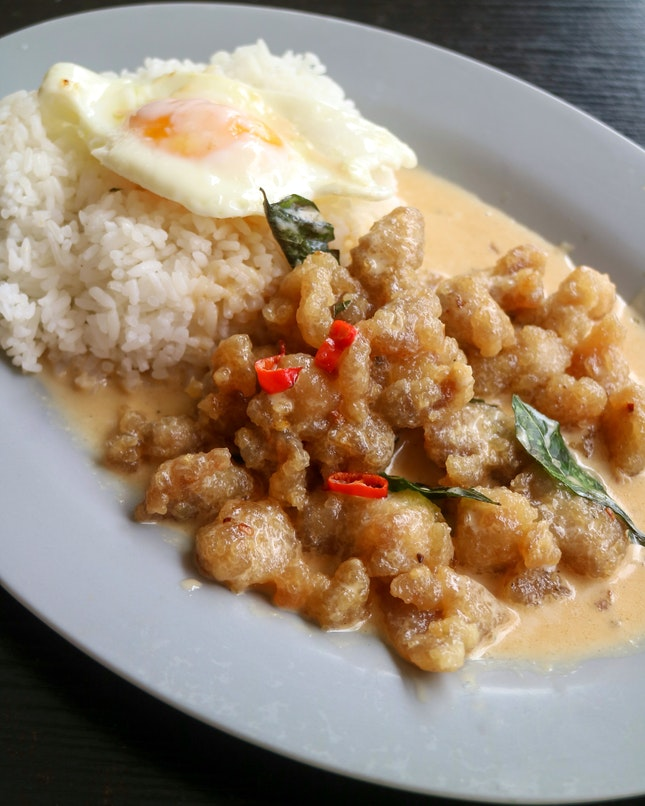 Creamy Salted Egg Yolk Rice ($8)