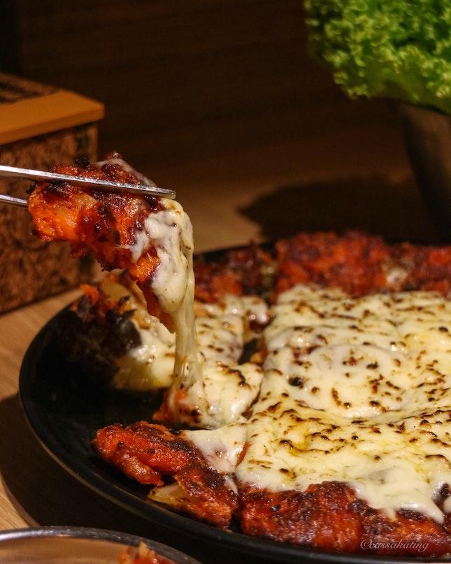 Cheese Kimchi Jeon