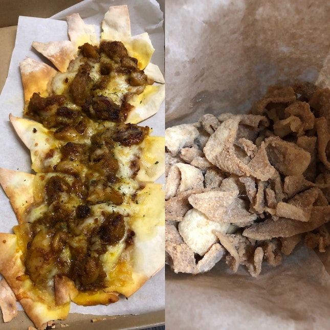 Pizzas And Chicken Skins