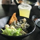 Set A Fishball Kuay Teow with fish skin
