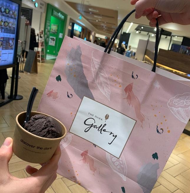 Dark Chocolate Ice Cream!