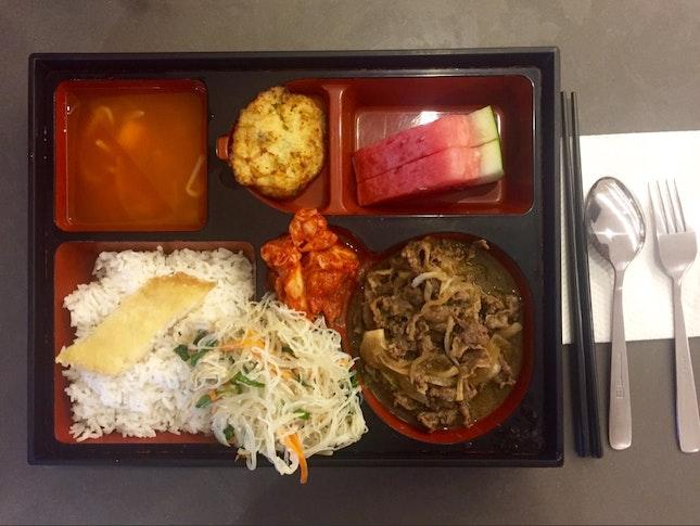 Cheap Korean Set Lunch