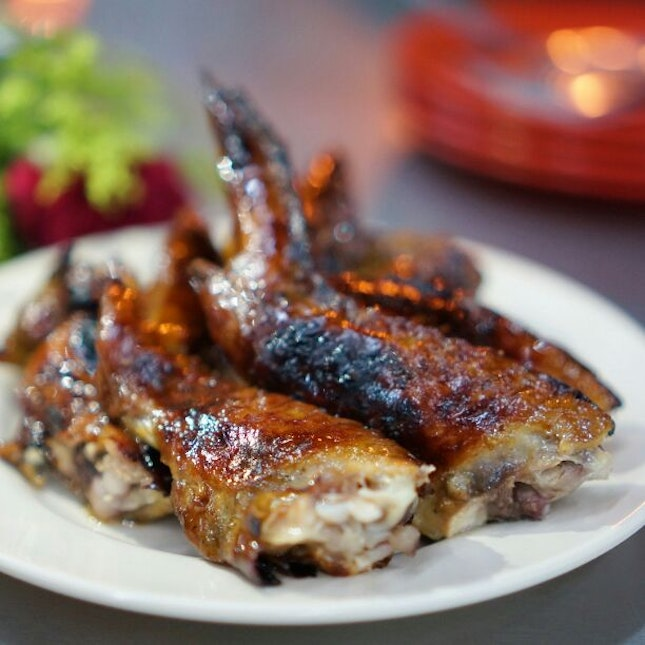 For Salty Burnt Classic BBQ Chicken Wings. Well This Needs No Introduction!