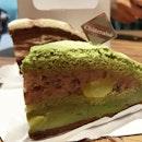 Fluffy Matcha cake!