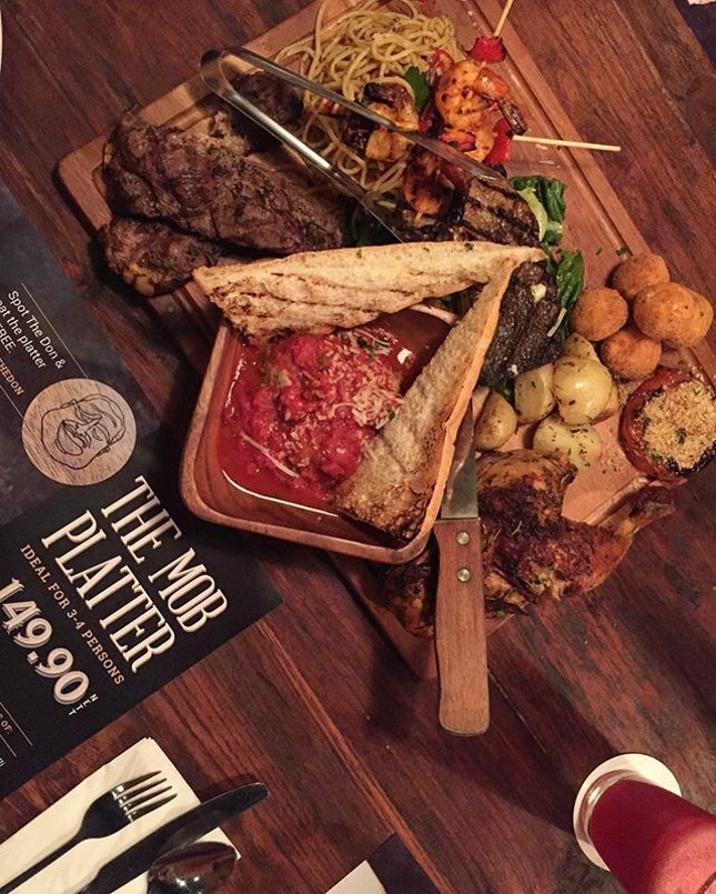 Introducing : The Mob Platter!