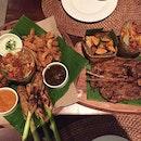 Trio platter (RM49+) and kambing bakar (RM33+) @baliandspice , Da:Men Subang.