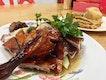 Recommended: xiu yoke+ roasted duck+ Chinese sausage aka xiu cheong...