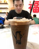 MK ice - RM4.50, super gao coffee+Choco drink, originated from Pusing, Perak.