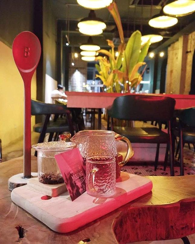 Berry tea (RM18) @ Vintage 1988.