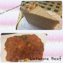 Lasagne And Cake
