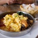 [$20] Halloumi and Eggs