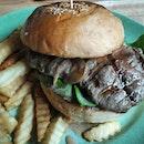 Atas burger from Aria.