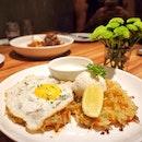 Salmon gelato & potato rosti waffle ❤️😋👍🏻 #whimsicalKL #cielodolci