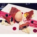 Blueberry Mille-Feuille 😋🍴🍷#cantaloupetroika #dindins #aboutlastnight