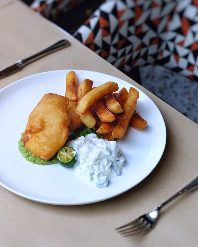 Surprisingly impressed with all the dishes we tried here 💯 Will definitely be back - even just for the fish & chips👆🏻The fish was perfectly battered (crispy yet tender) and the raita sauce really complemented the dish well.