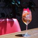 The season of red 🍹❤️ #quivo #quivomoments #pavilionkl