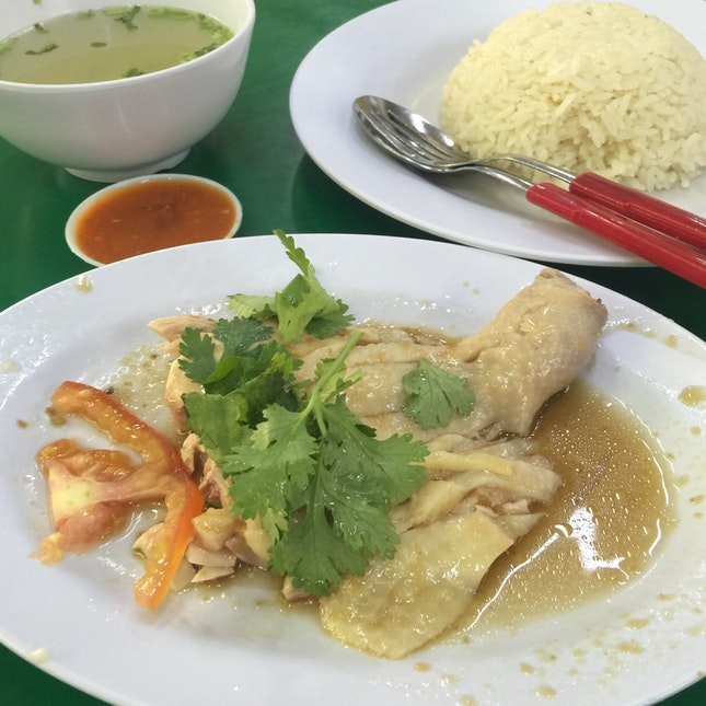 Stingy Chicken Rice Aka Tong Fong Fatt