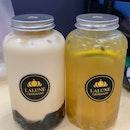 Dirty Milk Tea & Passion Royale