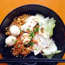 Fishball Meepok ($3.50) At a very humbling price, this bowl screams more than just perfection.