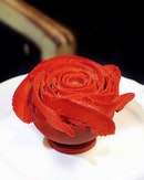 La Rose Chocolate Mousse ($12) .