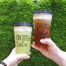 Get your 1-FOR-1 premium artisan tea from @OhChaChaSG at the recently renovated @NorthPointSG!