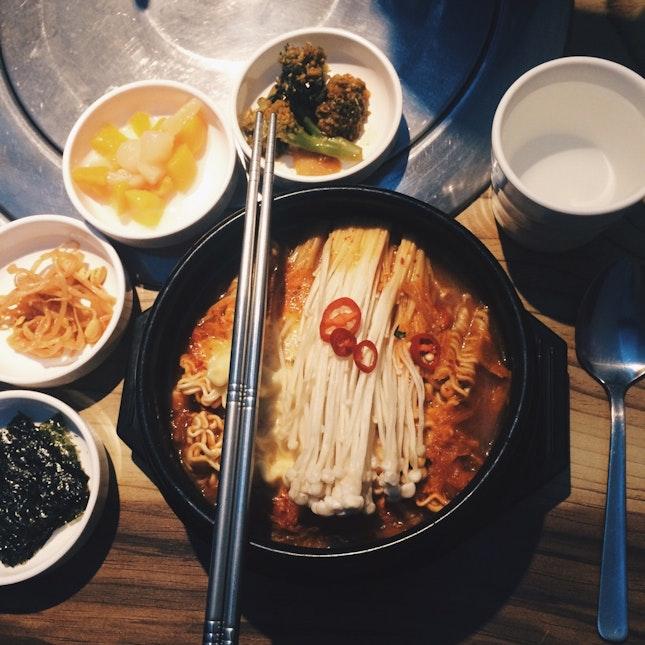 Vegetarian Korean Food