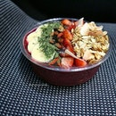 This acai bowl is packed with power foods that I literally felt good after eating it.