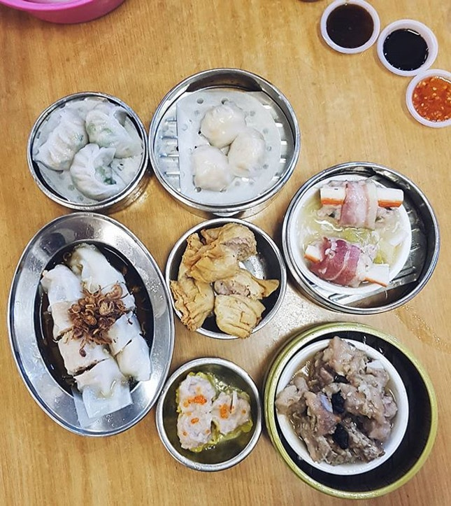 What could be better than to end a trip in the capital city of food with some dim sums.